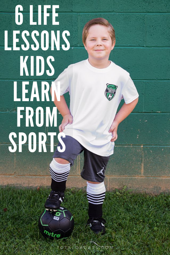 6 Important Life Lessons Kids Learn from Sports