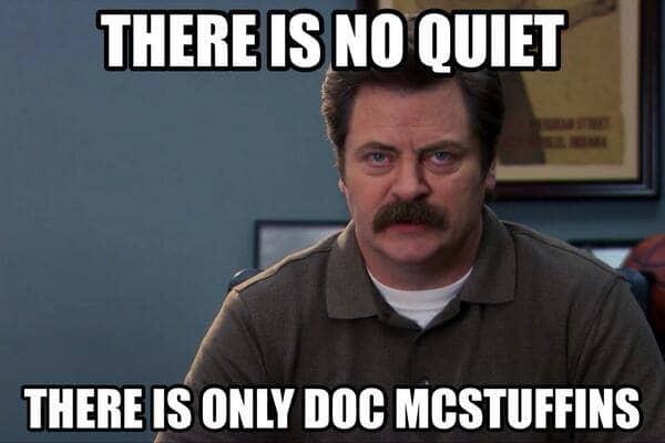 Ron Swanson Doc McStuffins quote