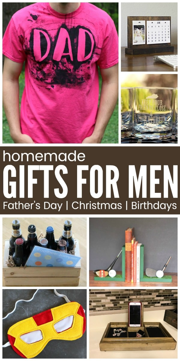 23+ DIY Gifts for Men - homemade gift ideas for the man in your life