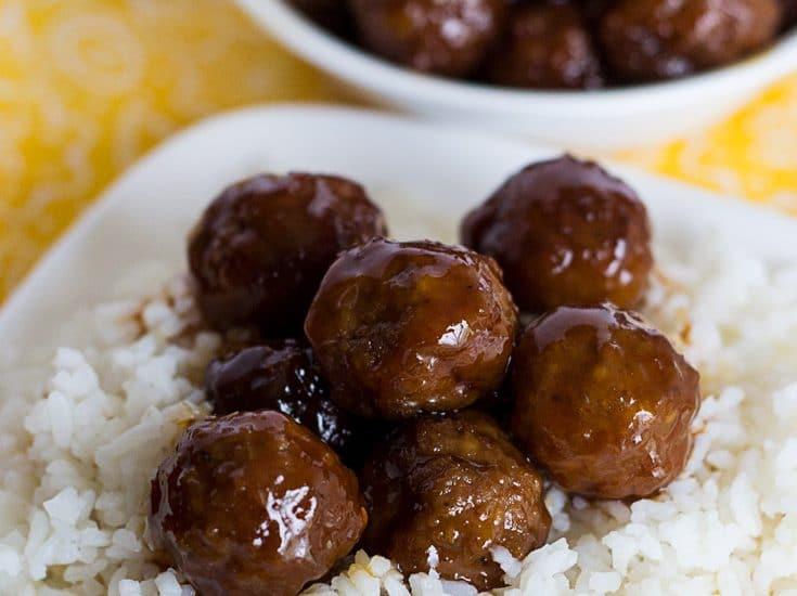 Sweet Crockpot BBQ Meatballs Recipe