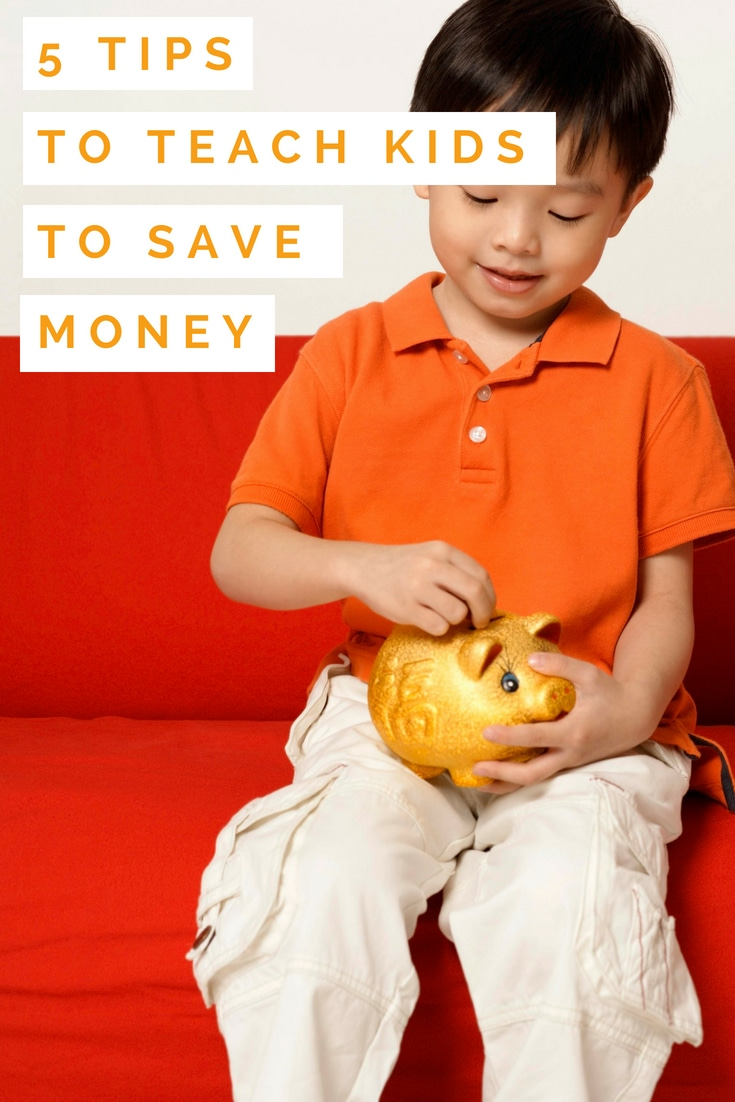 5 Practical Tips to Teach Kids to Save Money