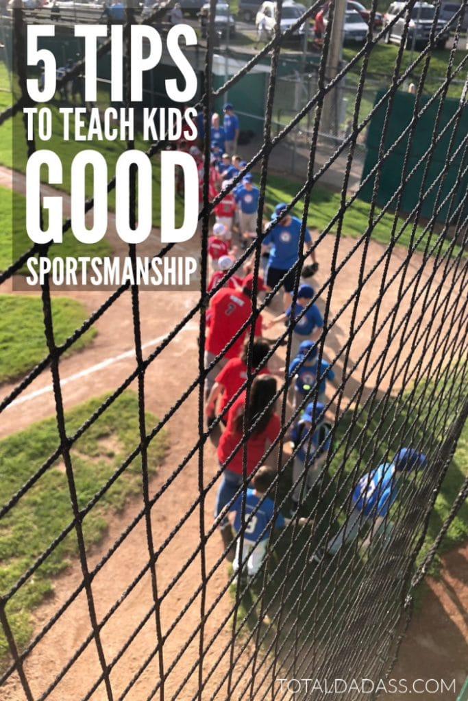 How to Teach Kids Good Sportsmanship - 5 tips for parents whose kids are just getting into sports