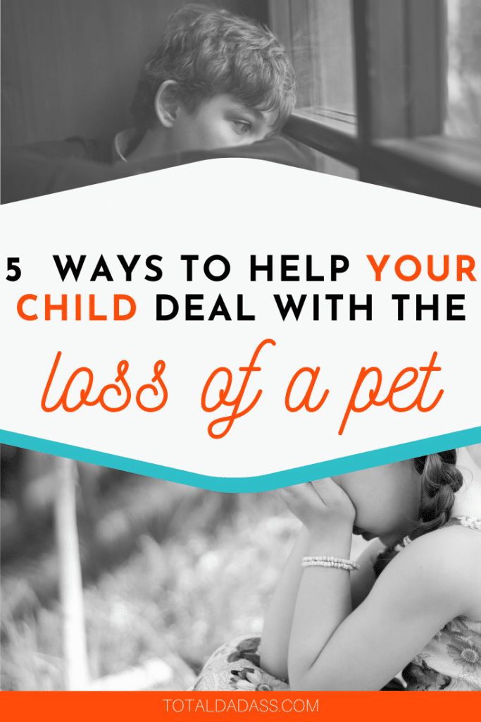 how to help kids deal with pet loss